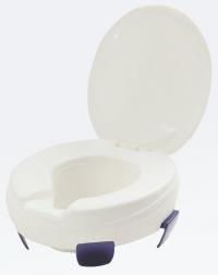 Thuasne - Toiletverhoger met klembevestiging met deksel