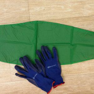 Aantreksteunkousen -Combipakket handschoenen en Smooth slip