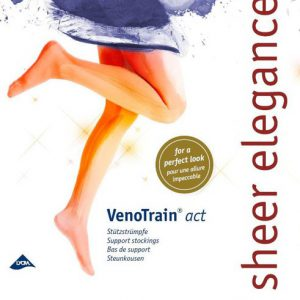 Steunkniekousen VenoTrain® Act Sheer Elegance 140 denier