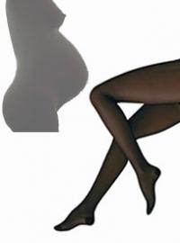 Zwangerschaps steunpanty VenoTrain® act Sheer Elegance 140 denier